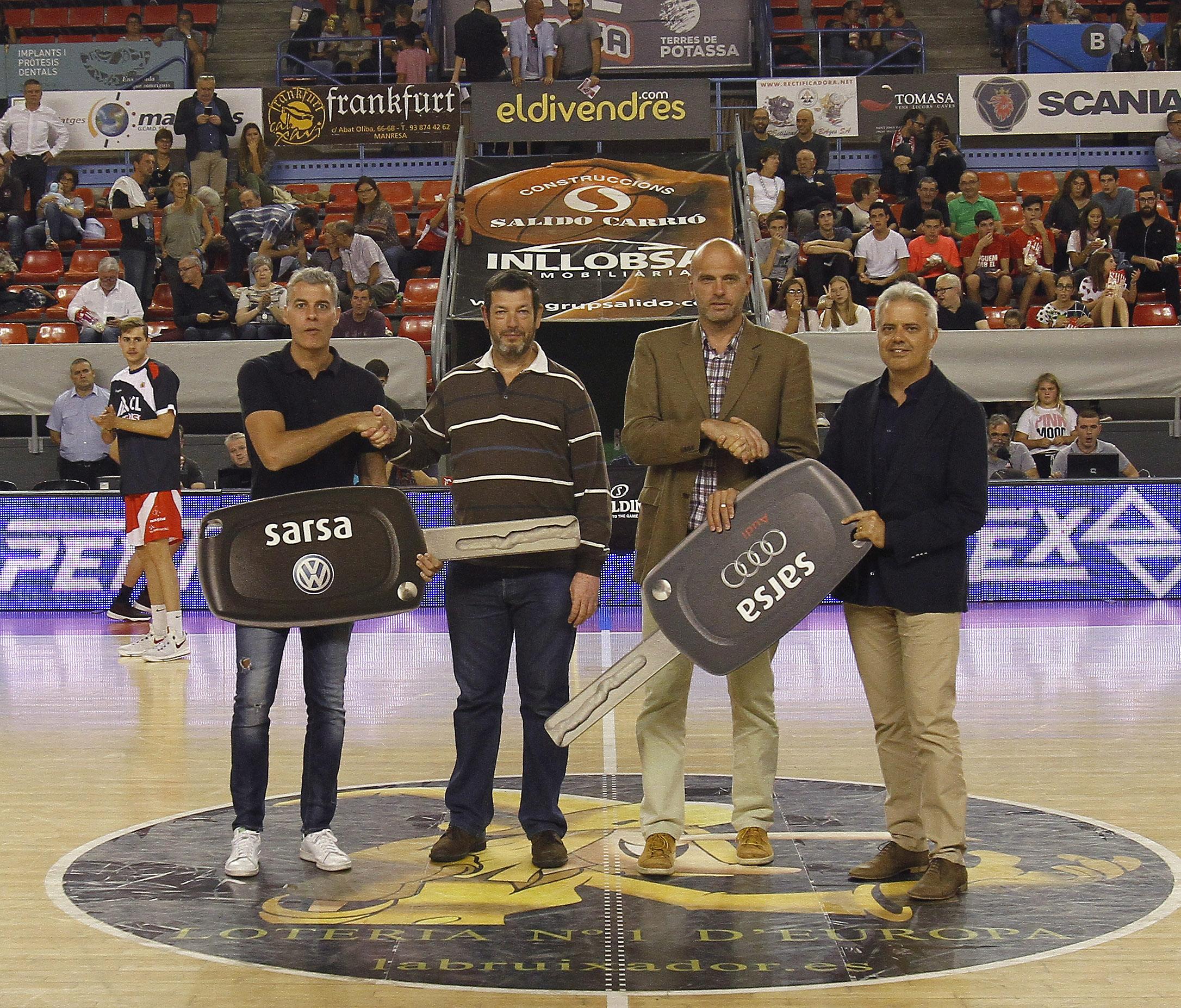 Presentación basquet manresa - sarsa