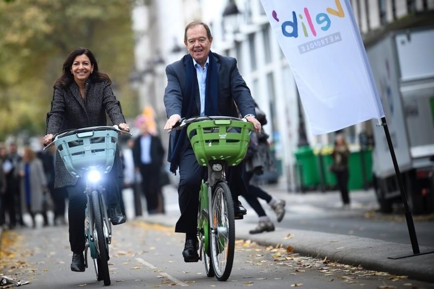 nuevas bicicletas bicing paris velib