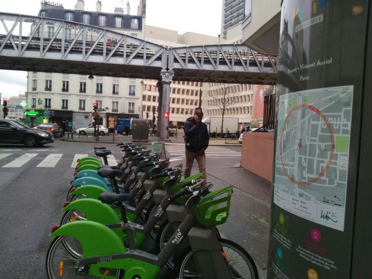 bicicleta publica paris Moventia Smovengo