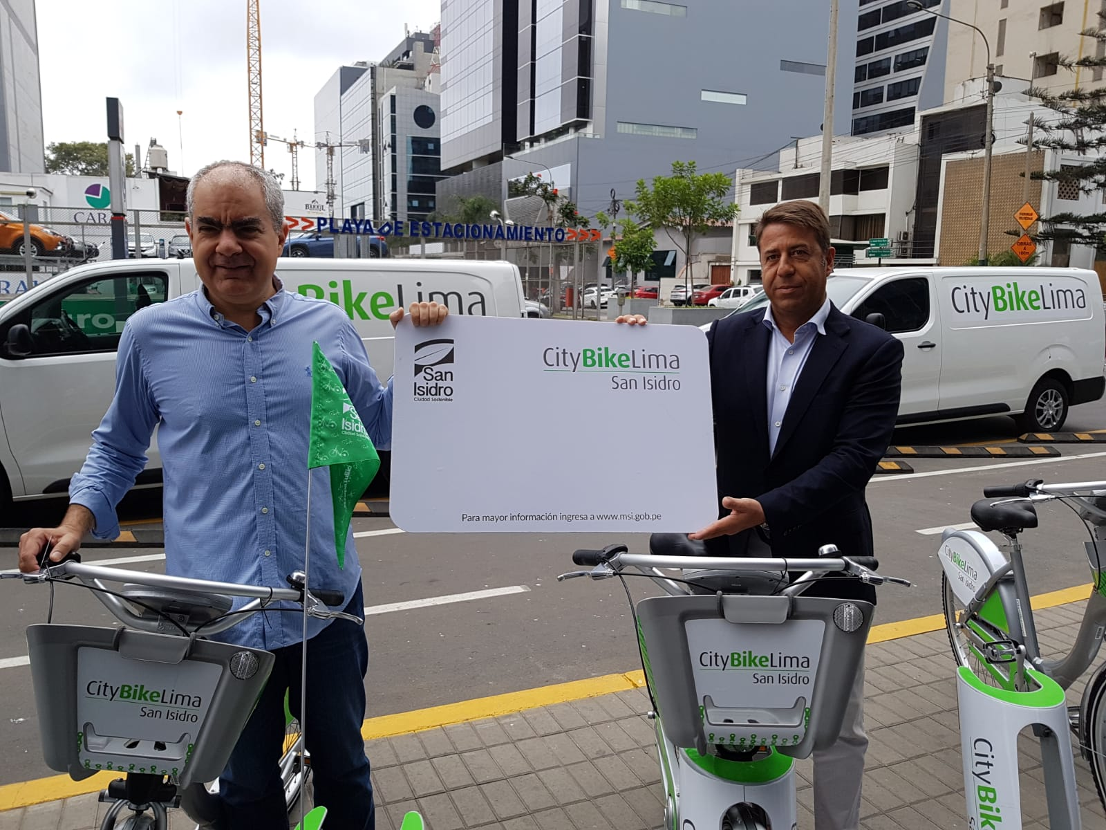 citybike lima bicicleta publica san isidro
