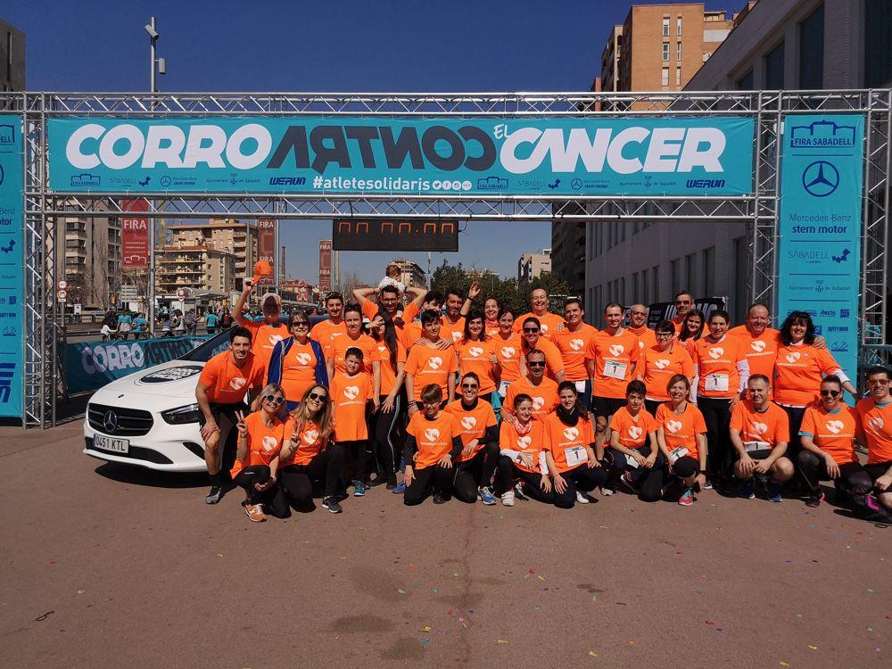 Moventia Solidaria pone otro granito de arena contra el cáncer
