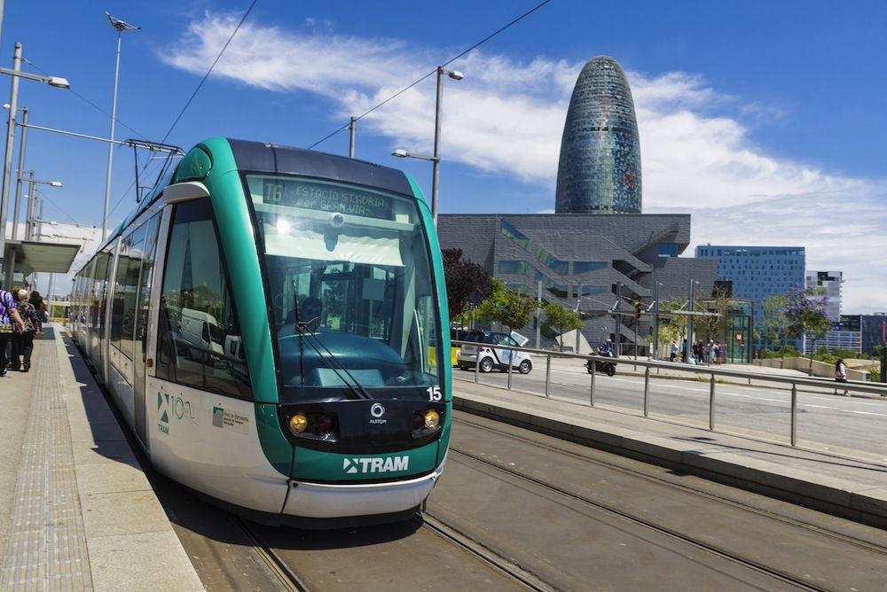 Tranvía Barcelona TCC
