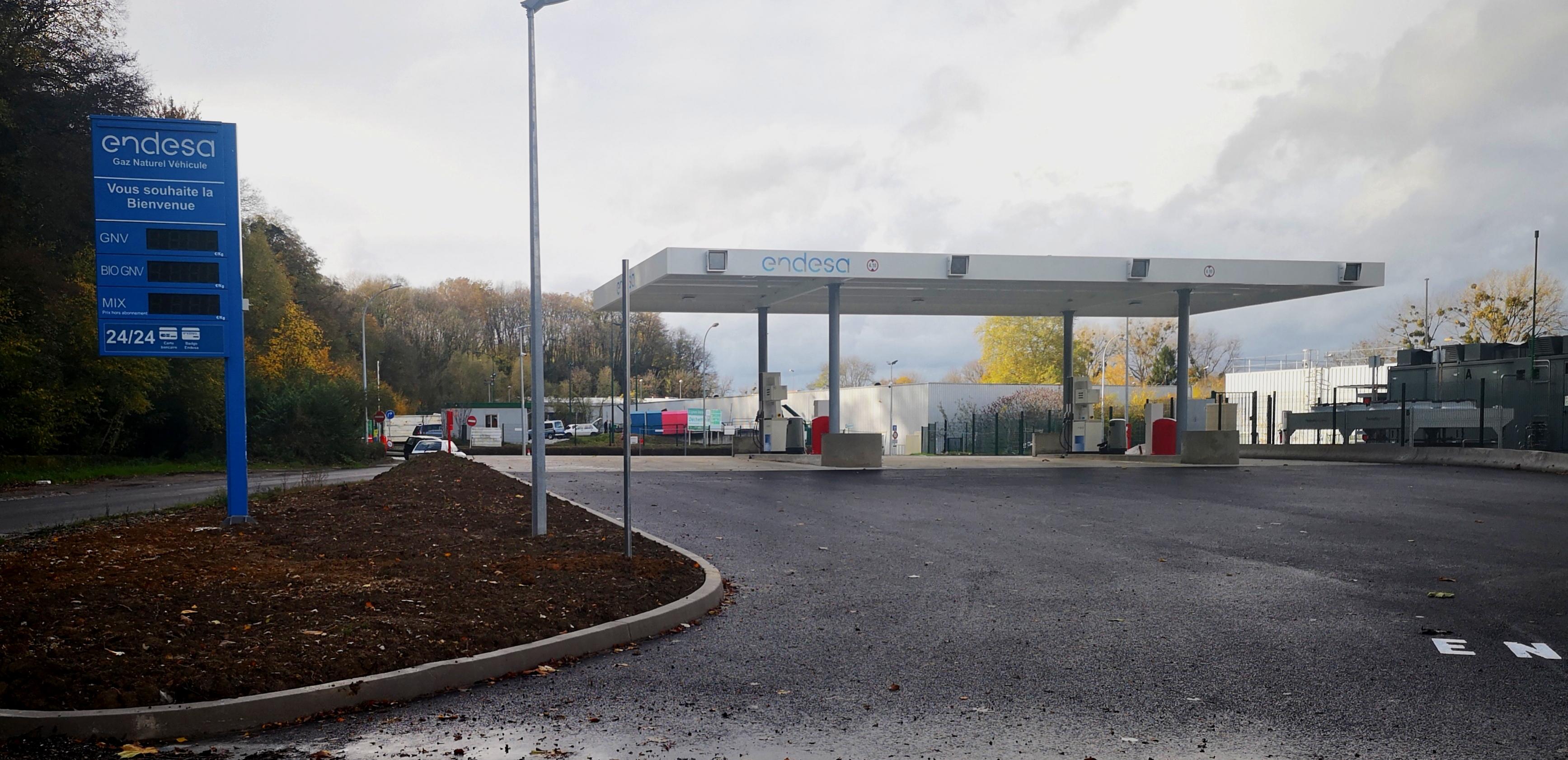 Moventis promueve la primera estación de repostaje de gas en Pays de Montbéliard