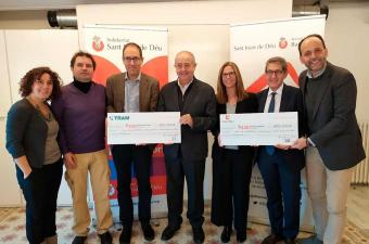 TRAM and Moventia renew agreement with Sant Joan de Déu to guarantee mobility for the homeless